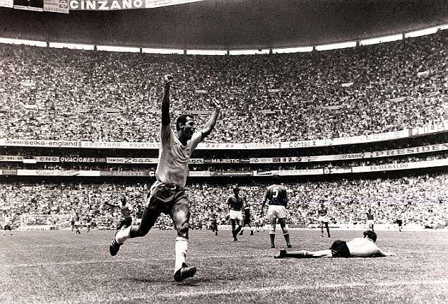 Carlos Alberto captained the all-conquering side of 1970