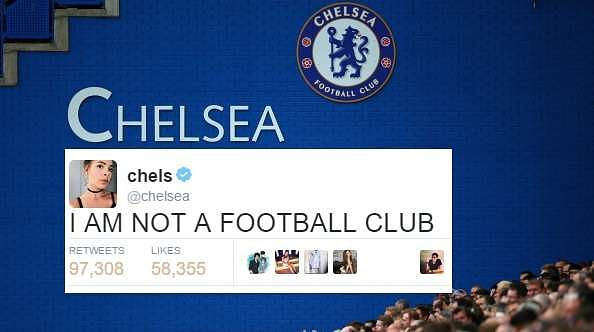 Football Tweets target wrong person mistaken identity