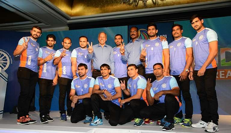 2016 Kabaddi World Cup Know Your Indian Squad Of 14 Players