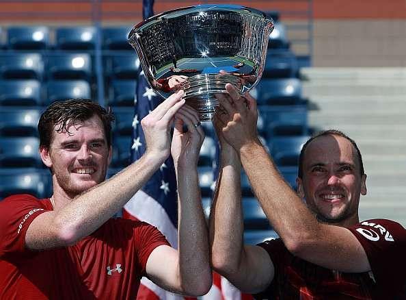 Jamie Murray and Bruno Soares US Open