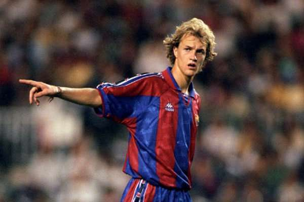 Jordi, like his father, played for Barcelona