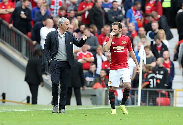 Jose Mourinho gives brilliant explanation on why Juan Mata is more important at Manchester United than Chelsea
