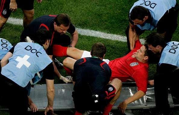 Michael Owen injured