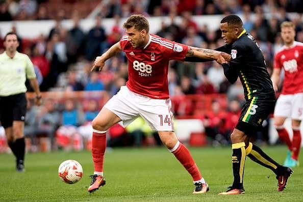 Nicklas Bendtner Nottingham Forest