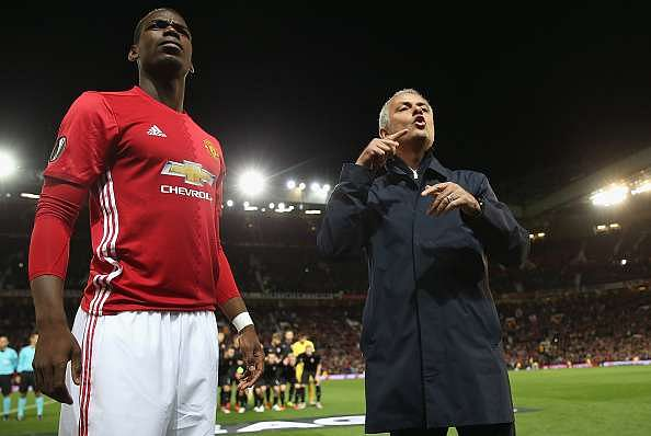 Jose Mourinho blasts Manchester United backroom staff for giving wrong instructions to Paul Pogba during Europa League game