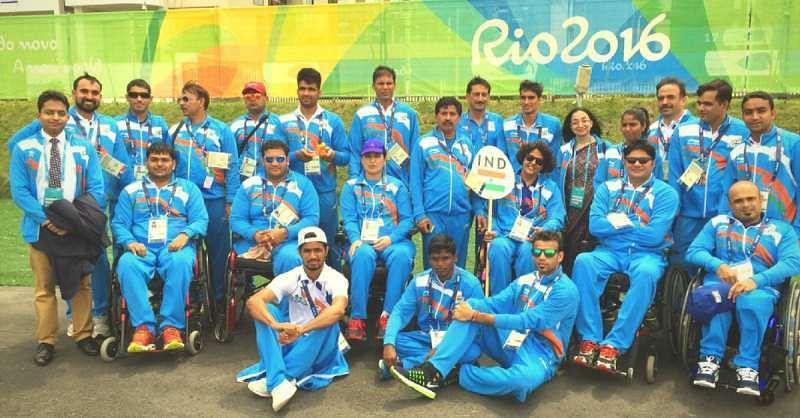 Rio Paralympics Indian Contingent