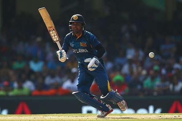 Sri Lankan legend Kumar Sangakkara uses SS bats