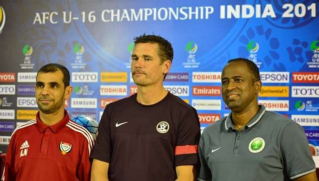 India's U-17 coach Nicholai Adam says