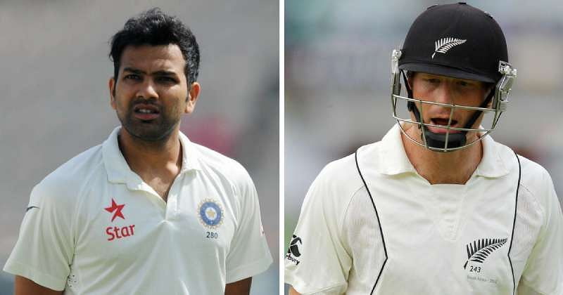 Dazzlers in Colour, Pale in Whites: Rohit Sharma and Martin Guptill