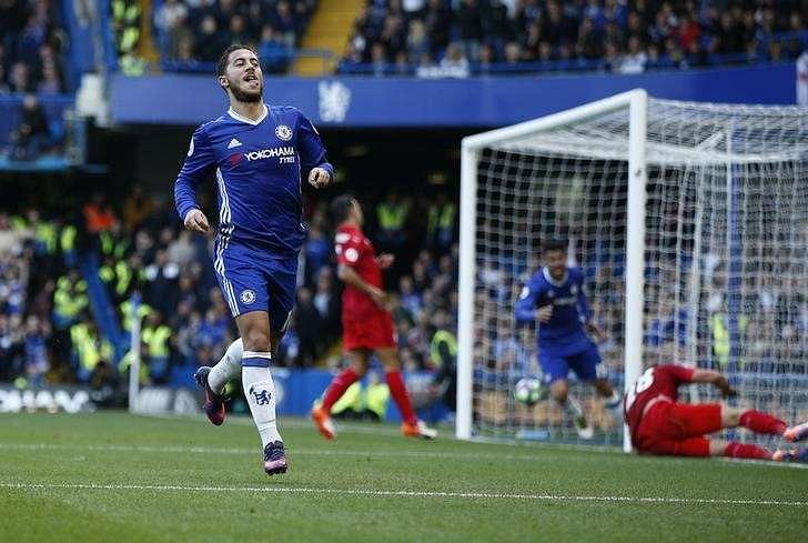 Chelsea's Eden Hazard says change in system at Chelsea is helping him ...