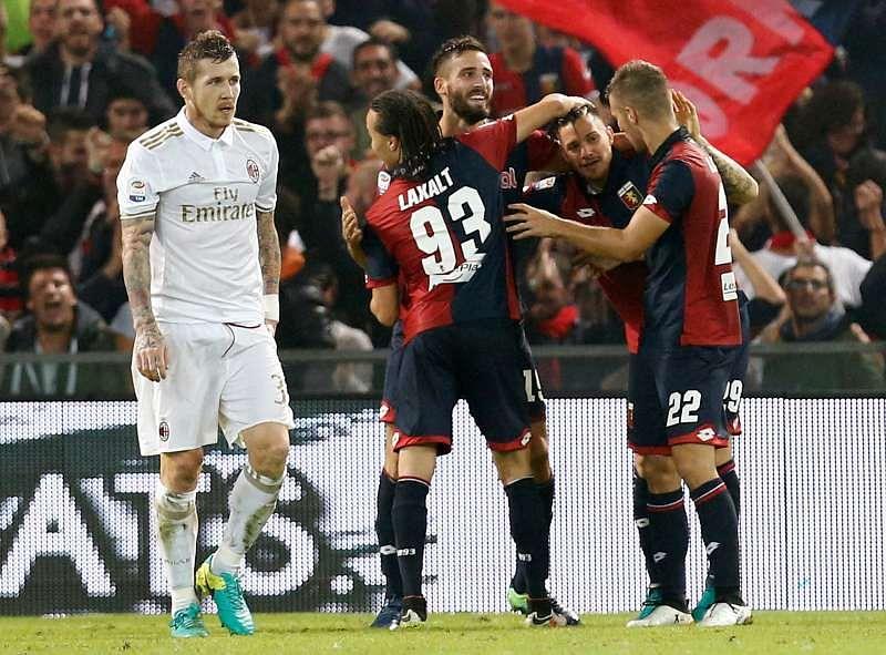 Football Soccer - Genoa v AC Milan - Luigi Ferraris stadium, Genoa Italy- 25/10/16 - Genoa