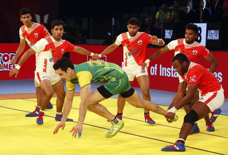 England vs Australia Kabaddi World Cup 2016