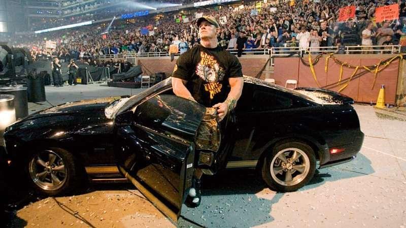 मौके जब WWE सुपरस्टार्स ने गाड़ियों से जबरदस्त एंट्री की