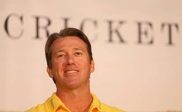 LONDON, ENGLAND - JUNE 29:  Former international cricketer Glenn McGrath is pictured during a photocall at the Honourable Artillery Company on June 29, 2015 in London, England.  (Photo by Andrew Redington/Getty Images)