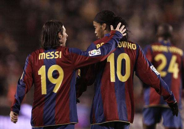 Ronaldinho involves Messi while revealing the biggest regret of his career