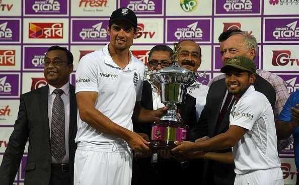 Alastair Cook Bangladesh England Cricket