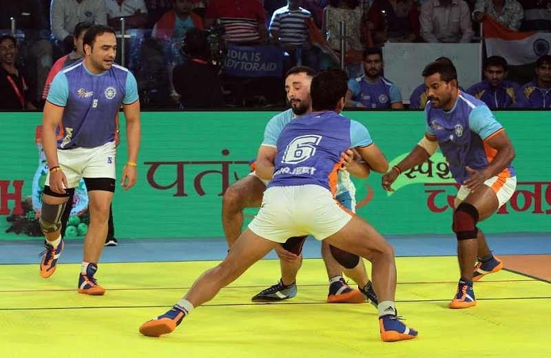 India Manjeet Chhillar Surjeet Dharmaraj Cheralathan Kabaddi World Cup 2016 KWC 2016 Defenders defence