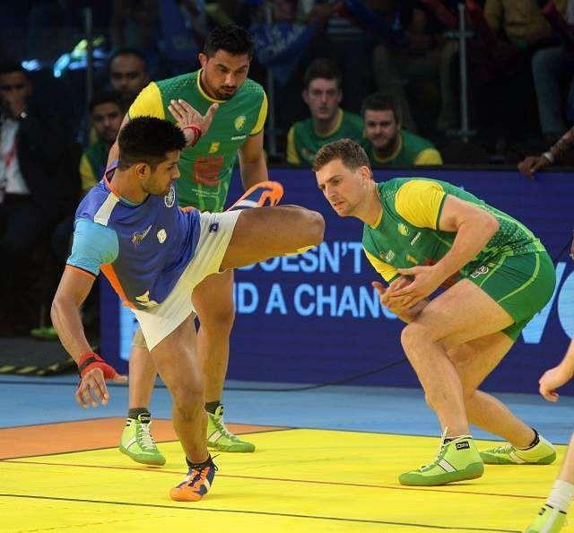 India vs Australia Kabaddi World Cup