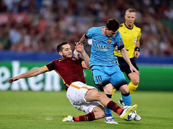 Lionel Messi is only the fifth best forward I have faced says Roma defender Kostas Manolas