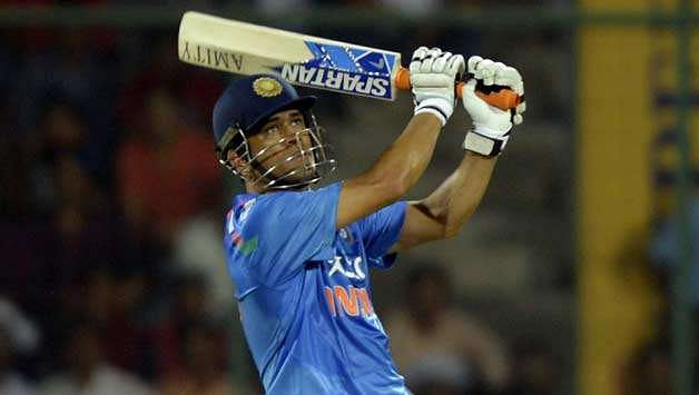 Captain Cool has finished lot of games for India with his Spartan