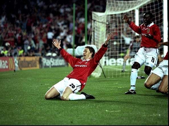Ole Gunnar Solksjaer Manchester United