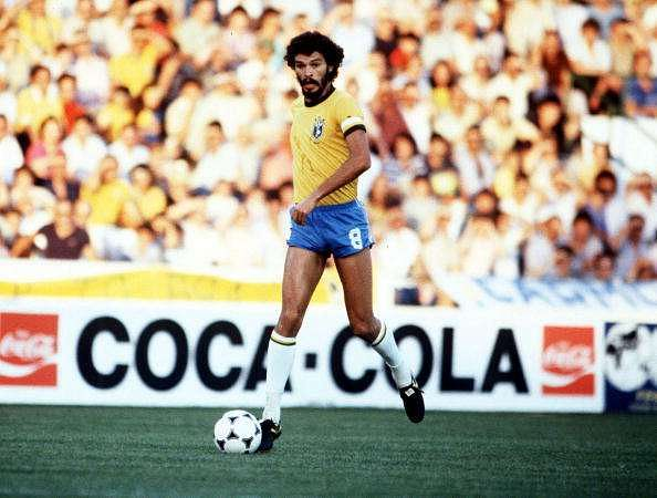 Socrates was one of the best holding midfielders Brazil produced