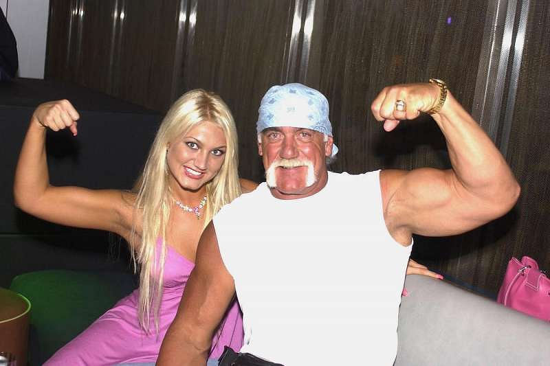 Hulk Hogan with his daughter Brooke Hogan