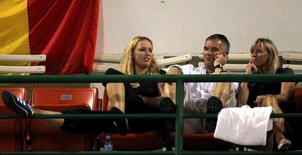 Caroline Wozniacki parents