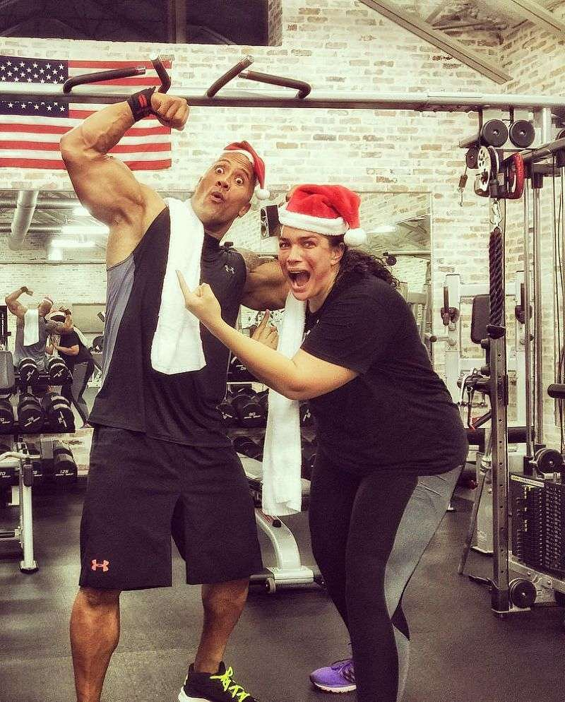 Nia Jax has a close relationship with The Rock