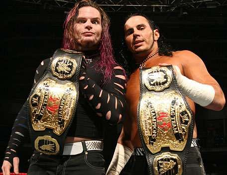 The Hardy Boyz won the WWE World Tag Team Championships a staggering 6 times