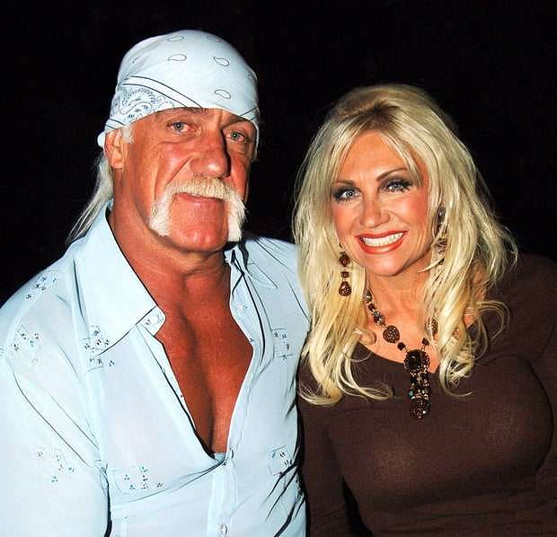Hulk Hogan and Linda Claridge