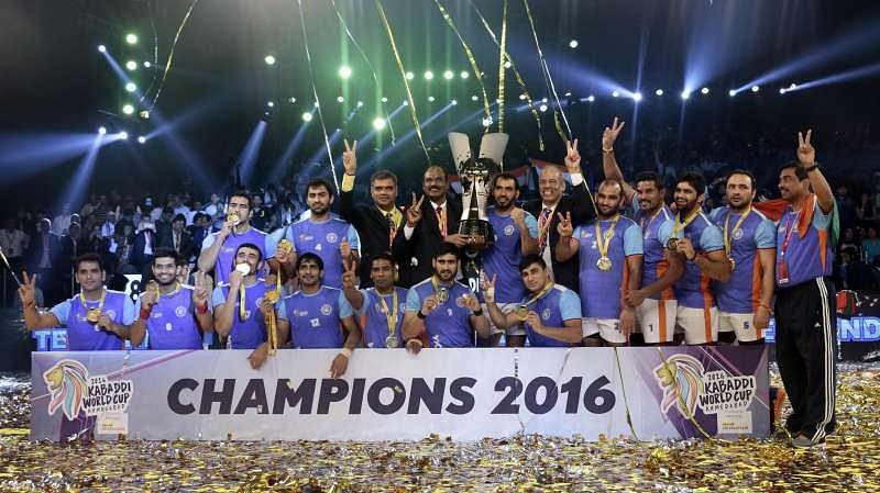2016 Kabaddi World Cup Each Player Of The Indian Winning Team Gets Reward Of Rs 10 Lakh