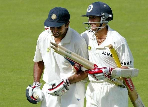 Ajit Agarkar and Rahul Dravid