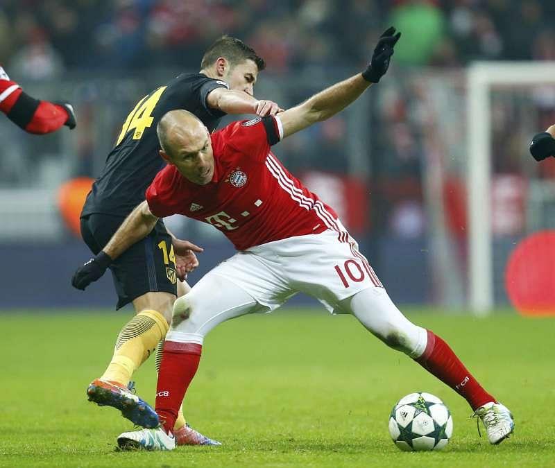 Football Soccer - Bayern Munich v Atletico Madrid - UEFA Champions League Group Stage - Group D - Allianz Arena, Munich, Germany - 06/12/16 - Bayern Munich