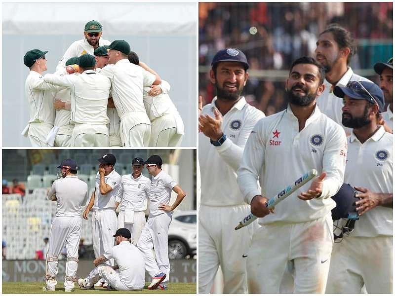 India-Australia-England