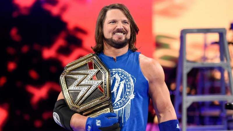 AJ Styles is the current WWE Champion