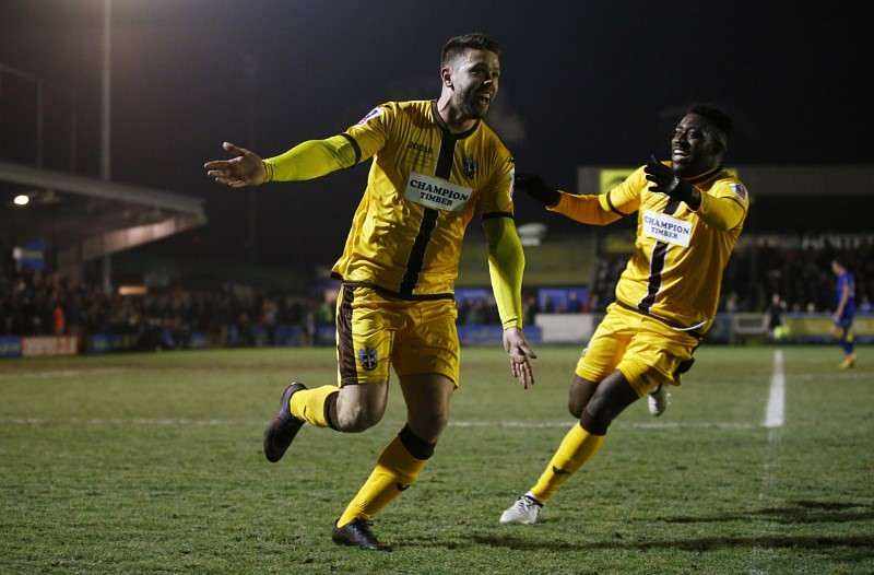 Britain Football Soccer - AFC Wimbledon v Sutton United - FA Cup Third Round Replay - The Cherry Red Records Stadium - 17/1/17 Sutton