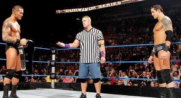 Randy Orton Wade Barrett