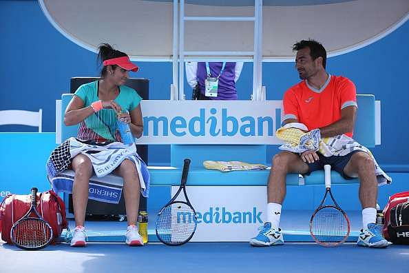 Sania Mirza and Ivan Dodig