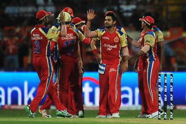 Virat Kohli has played for RCB since the first IPL season in 2008