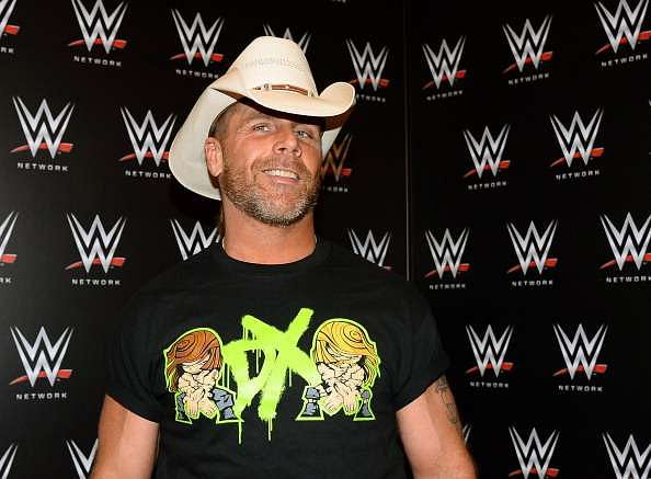 LAS VEGAS, NV - JANUARY 08:  WWE personality Shawn Michaels appears at a news conference announcing the WWE Network at the 2014 International CES at the Encore Theater at Wynn Las Vegas on January 8, 2014 in Las Vegas, Nevada. The network will launch on February 24, 2014 as the first-ever 24/7 streaming network, offering both scheduled programs and video on demand. The USD 9.99 per month subscription will include access to all 12 live WWE pay-per-view events each year. CES, the world
