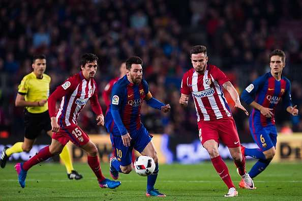 Messi is known for his ability to change direction swiftly and evading tackles while running at a blistering pace