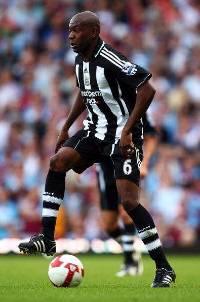 Claudio Cacapa in action for Newcastle