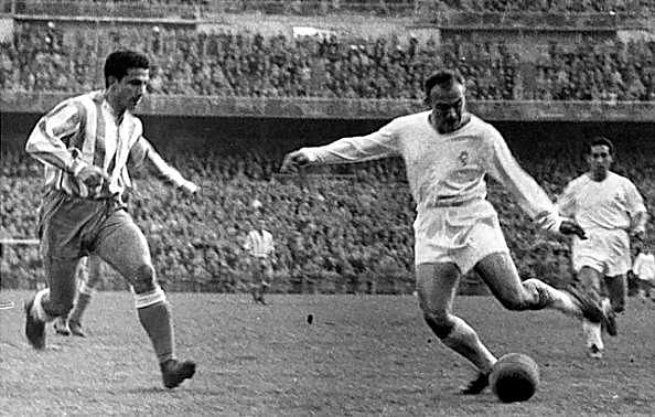 Alfredo Di Stéfano scored in every Champions League final between 1956 and 1960