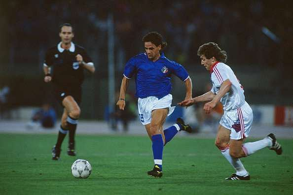 Baggio's legacy was that of a showman