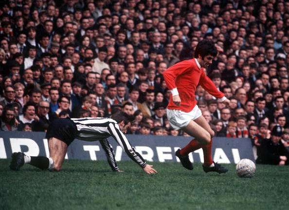 George Best at what he did best