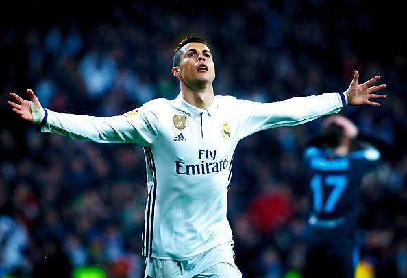 Cristiano Ronaldo is Real Madrid's all-time top goalscorer