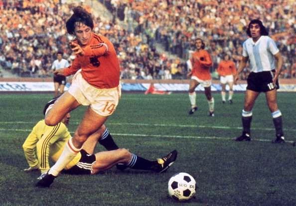 Cruyff even got hissignaturemanoeuvrenamed after him