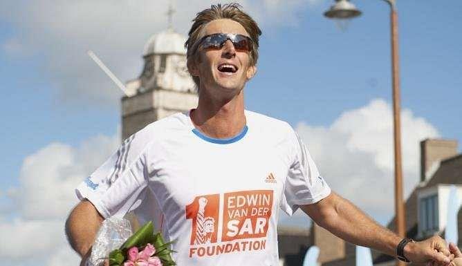 Edwin van der Sar New York Marathon