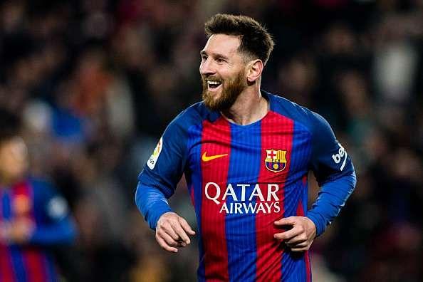 Messi broke the La Liga record in 2014